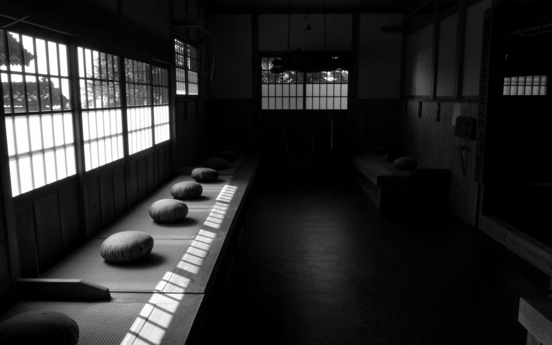 zazen in the zendo